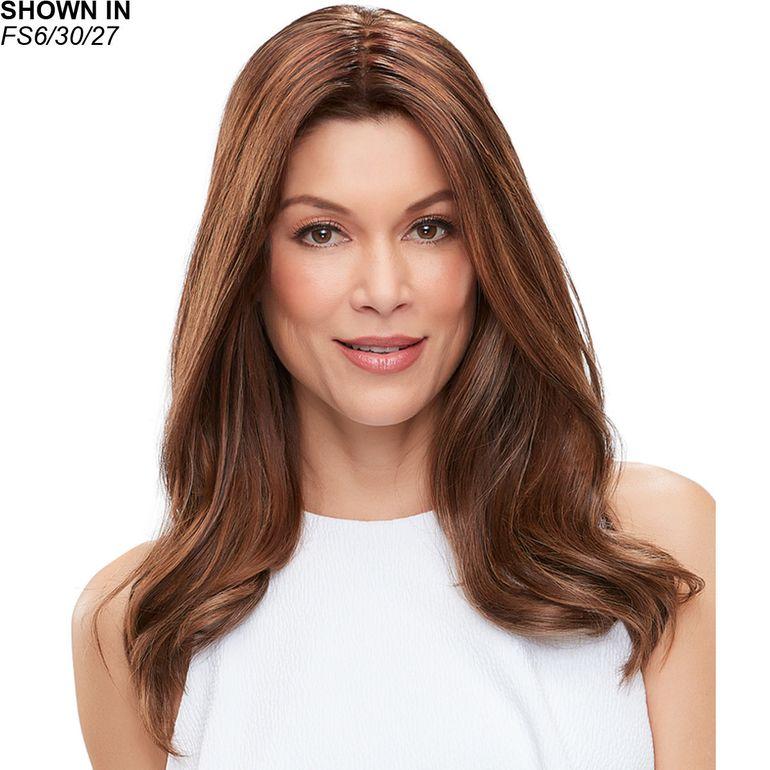 easiPart French XL 18 Remy Human Hair Topper Hair Piece by Jon Renau®