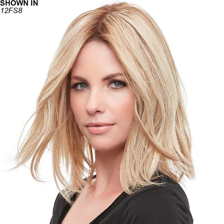 Top Form French 12 Remy Human Hair Topper Hair Piece by Jon Renau®