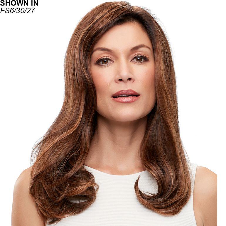 Top Form French 18 Remy Human Hair Topper Hair Piece by Jon Renau®