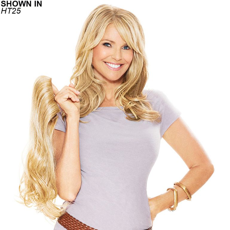 Clip In Human Hair Extensions Clip In Synthetic Extensions Wig