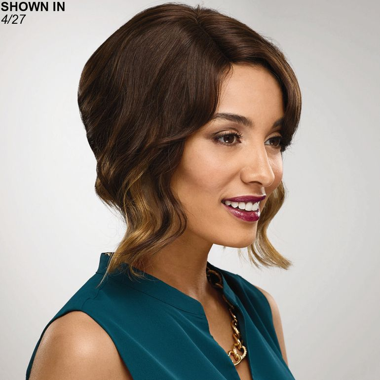 Nia Human Hair Monofilament Part Wig by Especially Yours®