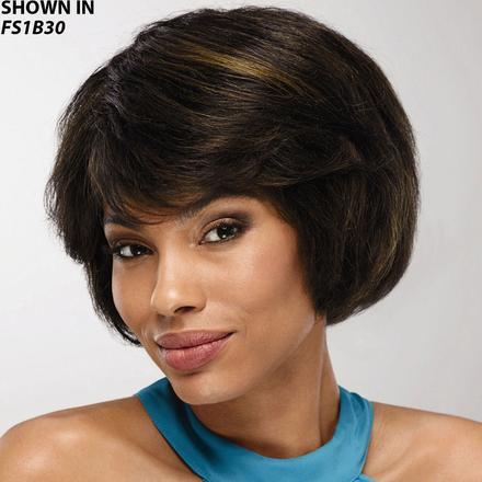 Women s Human Hair Wigs  100% Real Hair Wig Styles  95f0d77e09