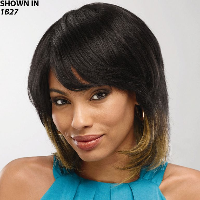 Nancy Human Hair Wet 'n' Wavy Wig by Especially Yours®