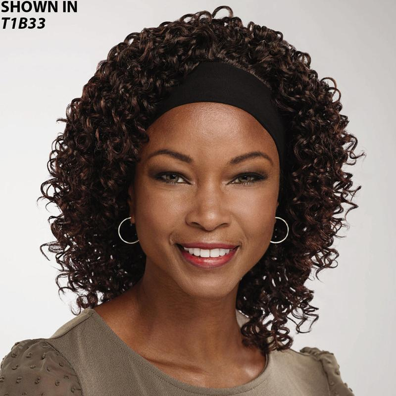 Curly Headband Hair Piece By Especially Yours Wig Com